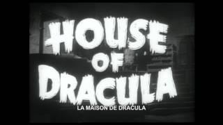 Bande-annonce (Trailer) La Maison de Dracula (COMBO : Blu-ray +DVD)