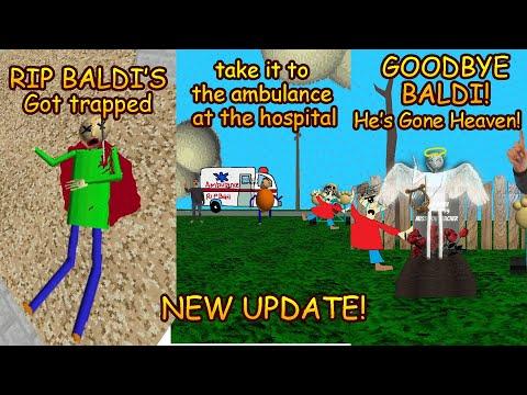 Goodbye Baldi's! |Baldi's Trap Out Of Control [Baldi's Basics Mods Decompiled]
