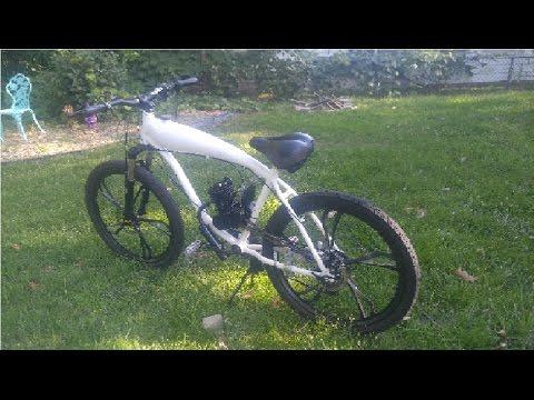 *RIDE* 7-SPEED 80cc Motorized Bicycle Shift Kit Custom skyhawk Gt2a jack shaft kickstart