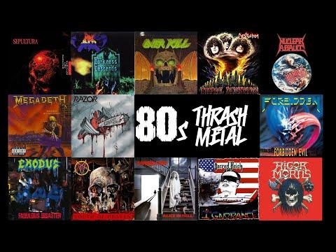 80s Thrash Metal Mix (pt.2)
