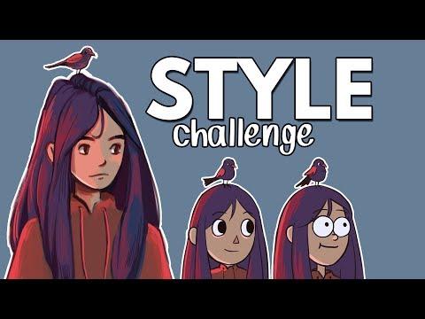 100k, Thank You! // Art Style Challenge + Q&A