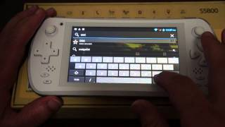 Jxd S5800 Phone Gaming Tablet PC All-in-One Review