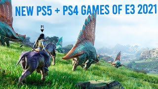 Top 20 NEW PS4 + PS5 Games Announced At E3 2021 [4K]