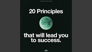 20 Principles That Will Lead to Success