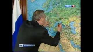 Рогозин правит карту Украины.