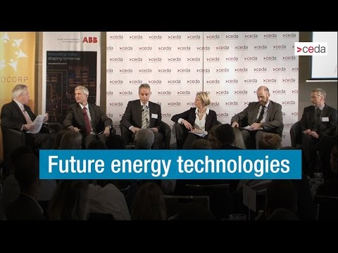 Future energy technologies in Western Australia's energy sector