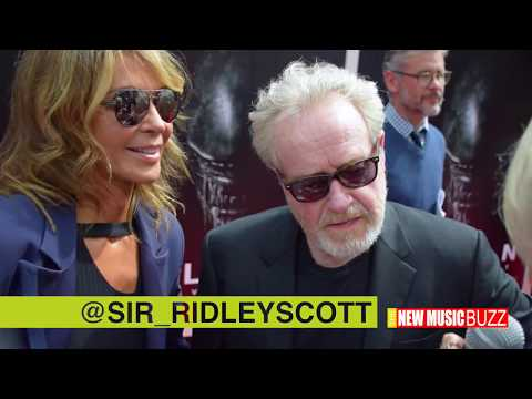 Sir Ridley Scott Hand and Footprint Ceremony at TCL Chinese Theatre