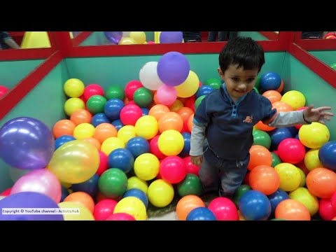 Baby Playing With Ball Ball Videos For Children Kids