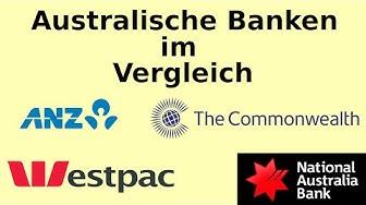 Australische Banken im Vergleich