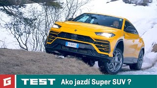 Lamborghini Urus 4x4 V8 - NEW ENG SUB !!! SUV - TEST - GARAZ.TV - Rasťo Chvála