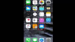 Hướng dẫn cách cài đặt email tên miền riêng trên điện thoại iphone