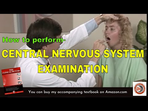 CENTRAL NERVOUS SYSTEM SCREENING EXAM