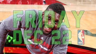 NBA Daily Show: Dec. 22 - The Starters