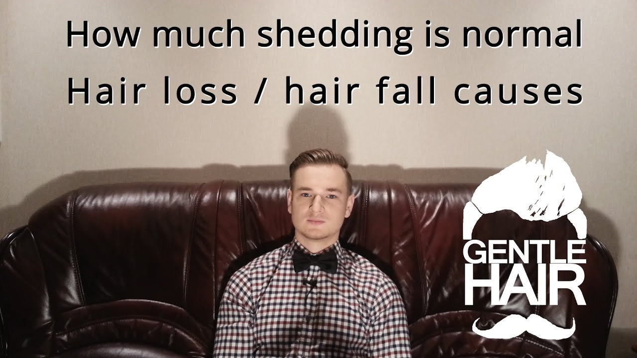 How much shedding is normal? Hair fall / hair loss causes ...