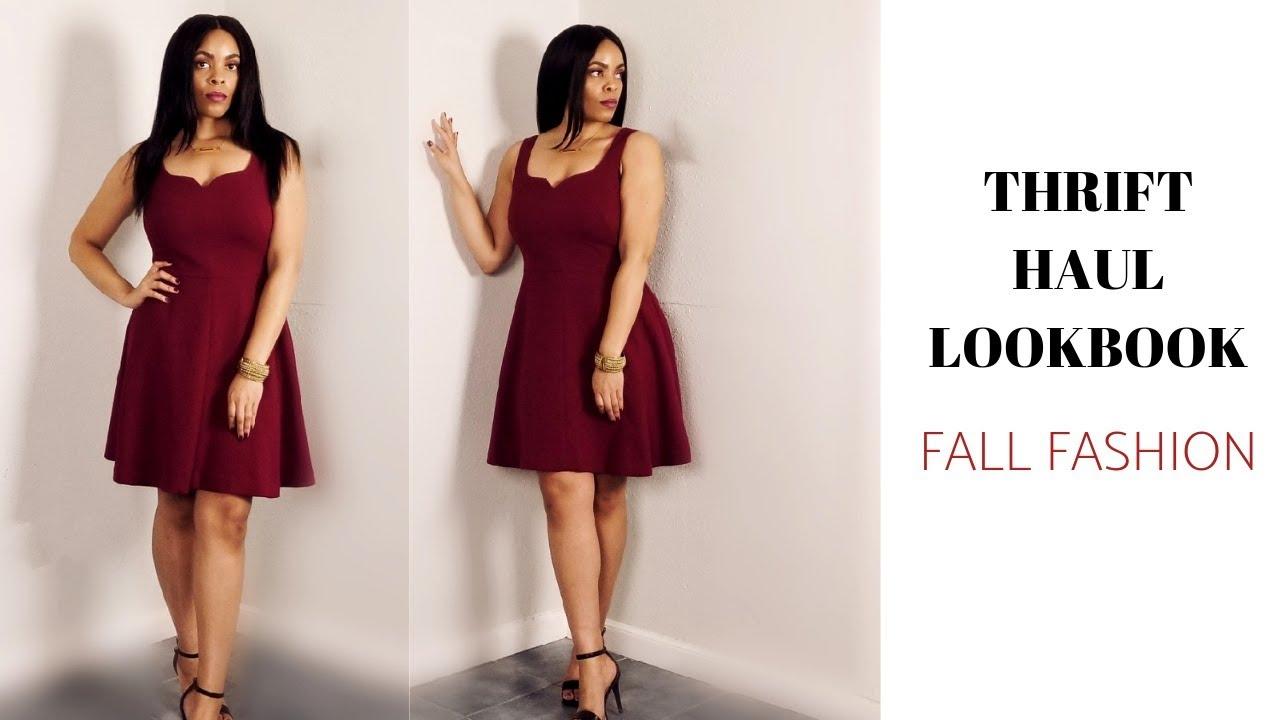 Thrift Haul Lookbook: Fall Fashion Warm Weather