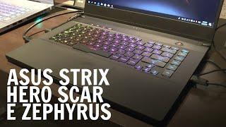 Strix Scar e Strix Hero di terza generazione, nuovi Zephyrus e una sorpresa da Asus ROG al Computex