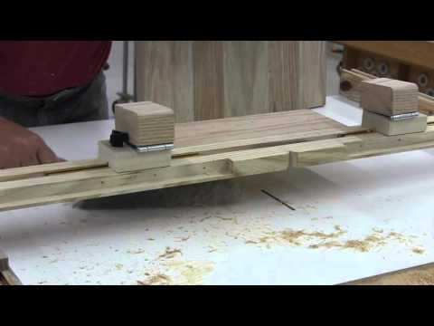 seat carving on the table saw