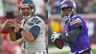 Madden 16 Simulation -NFC Wild Card Round- Seahawks vs. Vikings
