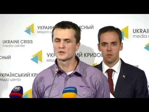 Drone instead of a billboard. Ukraine Crisis Media Center, 2nd of September 2014