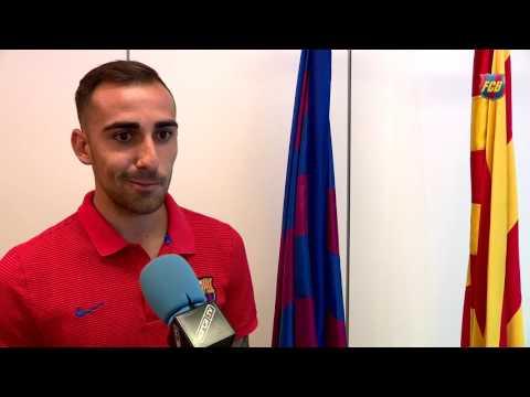 """Paco Alcácer: """"Aportaré mi granito de arena en forma de trabajo, profesionalidad y gol"""""""