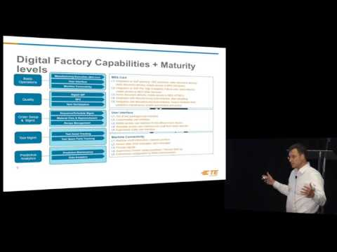 Building the Smart Connected Factory of the Future- Christian Brefka, TE  Connectivity