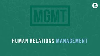 Human Relations Management