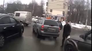 Драки на дорогах после дтп подборка 2015