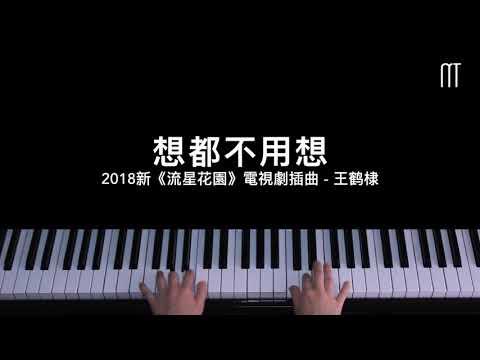 王鹤棣 Dylan Wang - 想都不用想 鋼琴抒情版 2018新《流星花園》電視劇插曲 Don't Even Have To Think About It Piano Cover