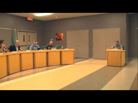 Conseil municipal de L'Ange-Gardien - Septembre 2014