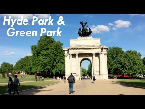 Hyde Park & Green Park - 21 May 2017
