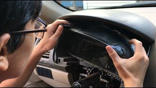 How Remove Instrument Cluster Speedometer Gauge Console Honda Accord | DIY Auto Repair Guide & Fix