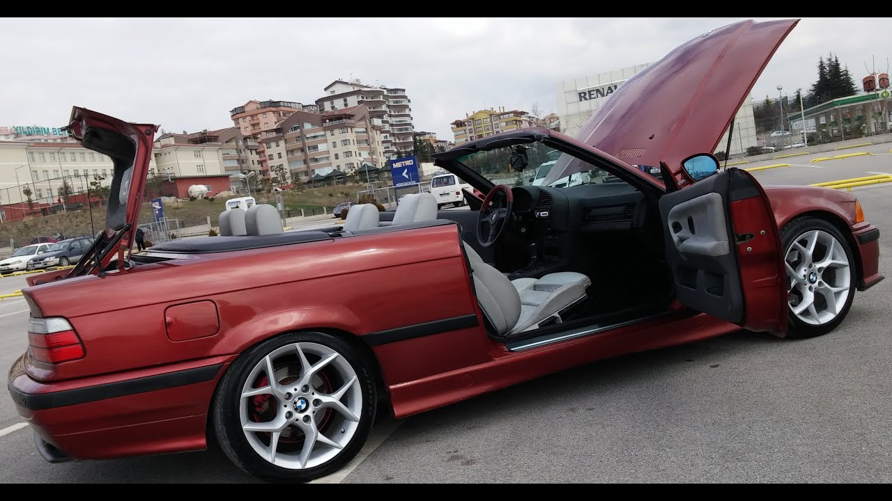 E36 1994 325i Convertible Cabrio Sienarot Metallic 06 Ab 5156 Uitra Hd You