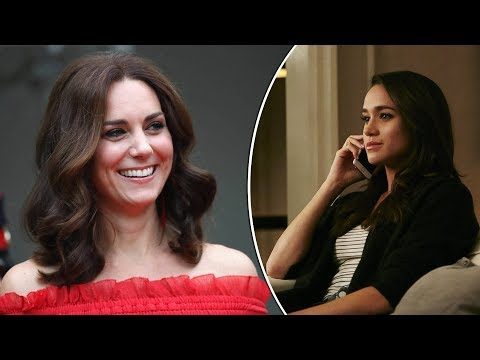 Meghan Markle asks Kate Middleton 'to be her maid of honour', Report Says