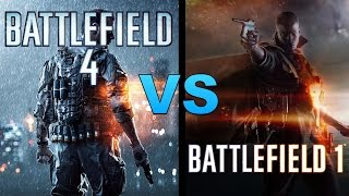 Battlefield 1 vs Battlefield 4 | Graphics Comparison And My Thoughts