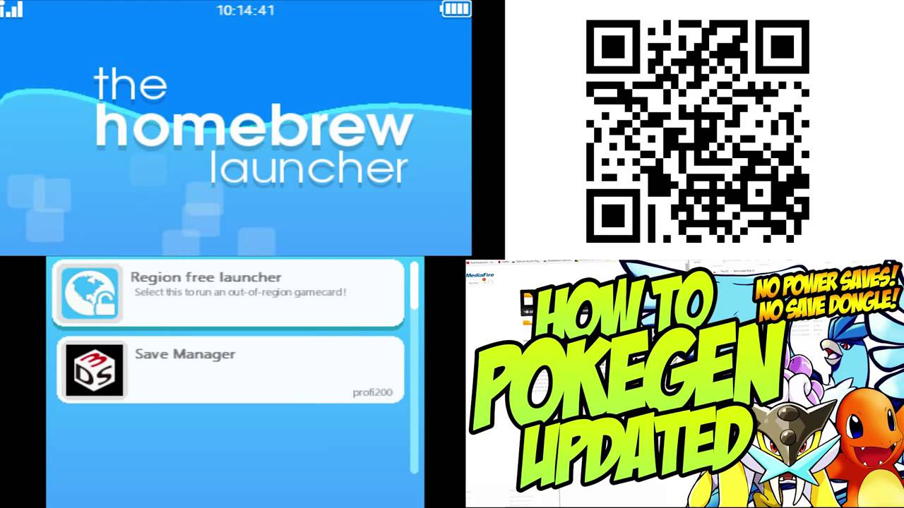 HOW TO GET HOMEBREW CHANNEL AFTER UPDATE NEW 3DS OWNERS READ DESCRIPTION!