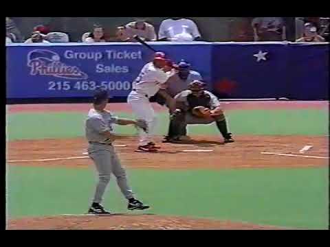 1998 Phillies vs Tampa Bay   Dennis Springer vs Mark Portugal Incomplete