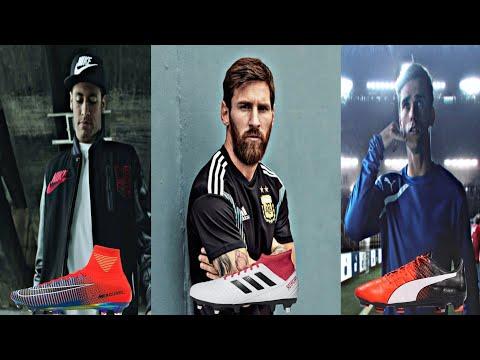 Adidas Nike Puma Football Commercials HD