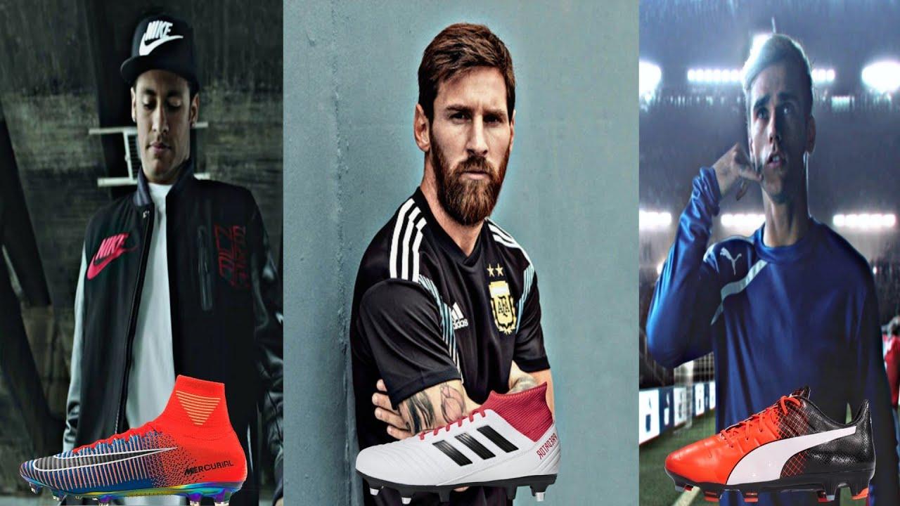 Best Adidas, Nike & Puma Football Commercials HD - YouTube