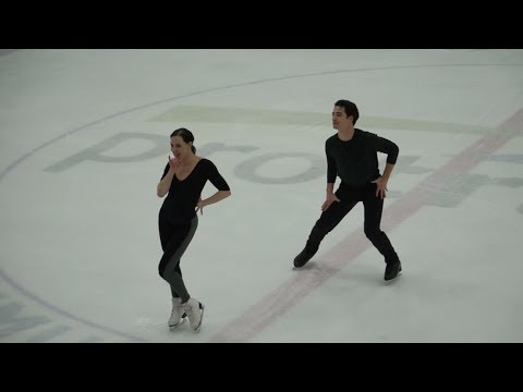 Tessa Virtue/Scott Moir CTNSC18 SD first practice (1.11)
