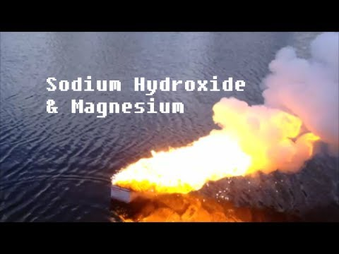 Reaction Of Sodium Hydroxide And Magnesium