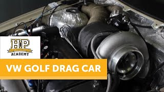 VW Golf Drag Car makes 1015HP on Dyno | SPB Racing, Germany