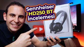TR'de TEK SES TESTİ - Sennheiser HD 250BT BT Kulaklık İnceleme - Mert Gündoğdu