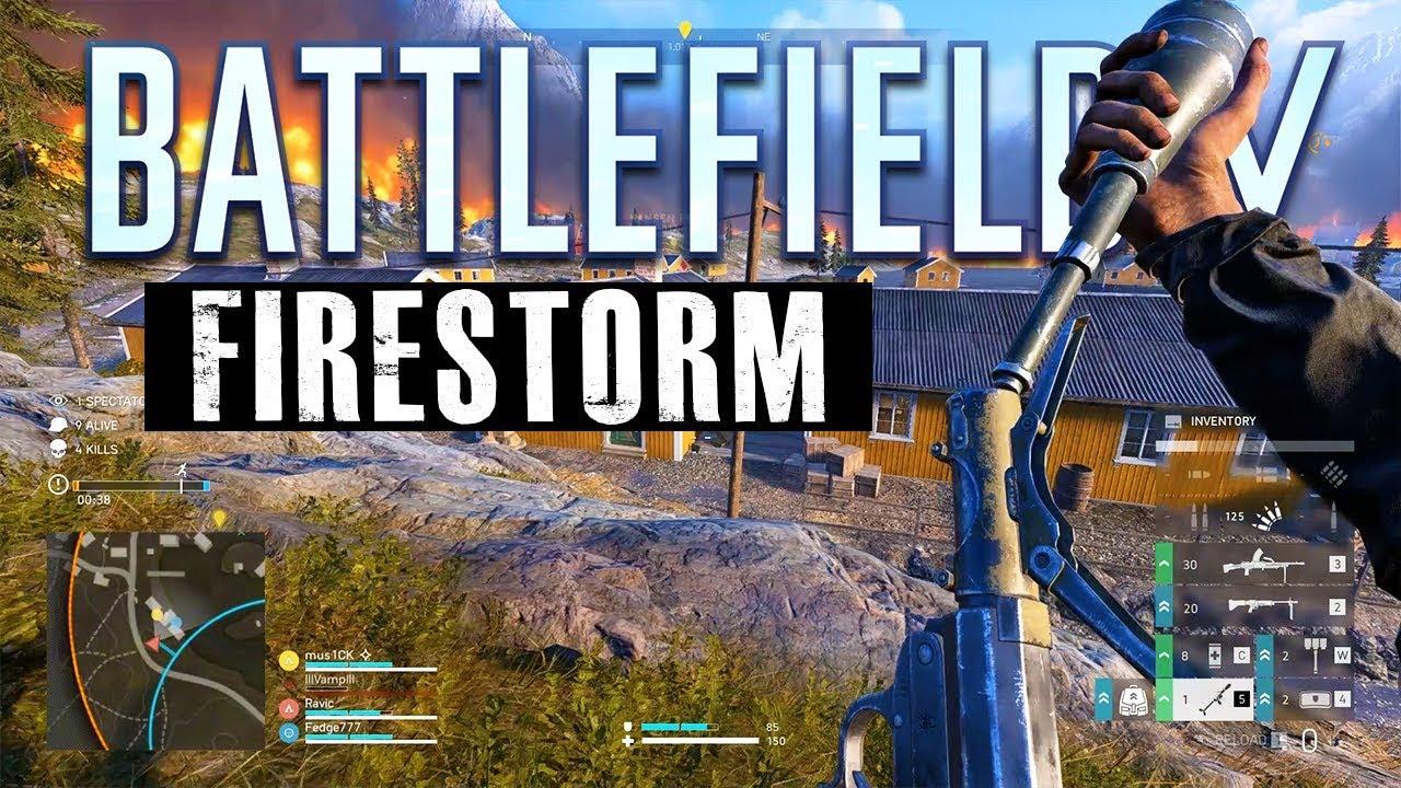 Battlefield 5 Firestorm?