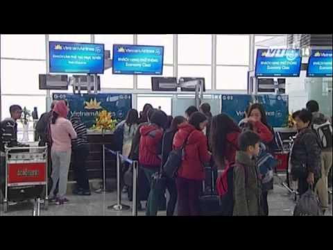 VTC14_Toàn cảnh nhà ga T2 sân bay quốc tế Nội Bài
