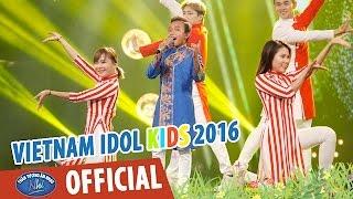 vietnam idol kids 2016 - gala 6 - nang co con xuan - ho van cuong