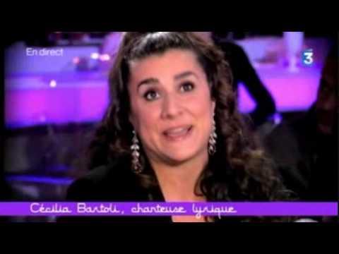 Interview of Cecilia Bartoli (2 of 3)