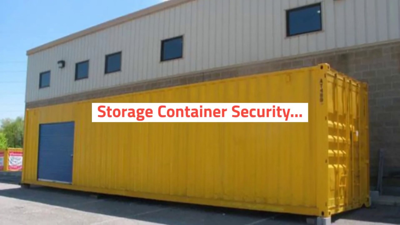 Storage Containers | A1 Portables