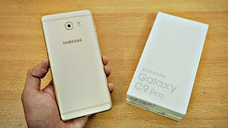 Samsung Galaxy C9 Pro - Unboxing & First Look! (4K)