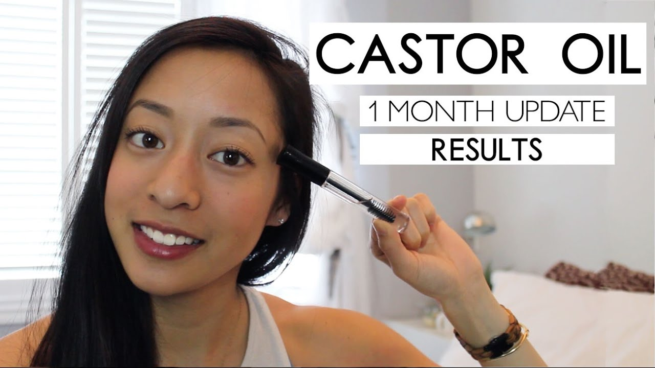 Results Castor Oil For Hair Growth 1 Month Update Youtube