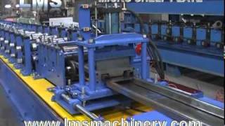 LMS Micro Rack Shelf Plate Roll Forming Production Line